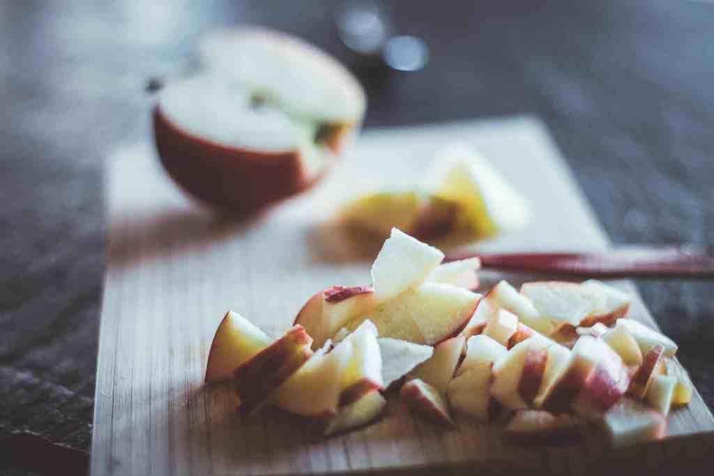 Protein Porridge Apfel Zimt Frühstücksbrei Zubereitung