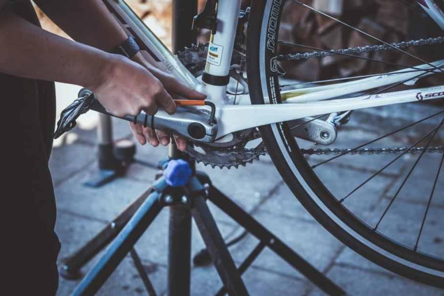 Linker Kurbelarm am Rennrad demontieren - 105er Schaltung - Erfahrungen beim Rennrad Umbau