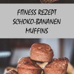 Fitnessrezept - Schoko-Bananen-Muffins