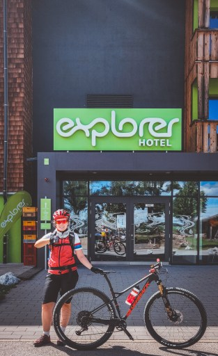Mountainbike Urlaub im Explorer-Hotel  Neuschwanstein in Nesselwang