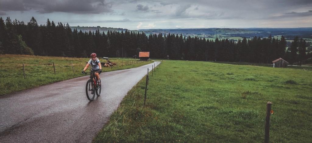 Mountainbike Urlaub in den Allgäuer Alpen rund um Nesselwang und Schloss Neuschwanstein
