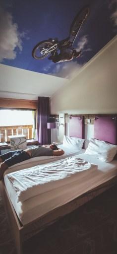 Zimmer im Explorer Hotel - Sportliches Hotel für einen Fahrradurlaub