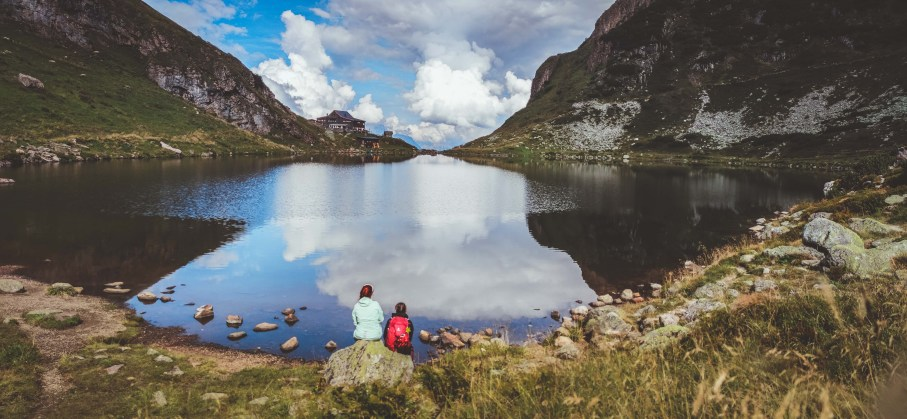 Wildsee auf dem Wildseeloder im Pillerseetal - traumhaft zum Wandern im Aktivurlaub