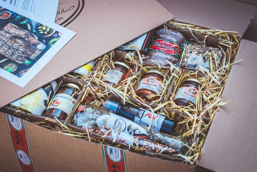 Italienische Geschenkboxen La Colombaina Erfahrungen Gesunde Ernaehrung Geschenkidee 9