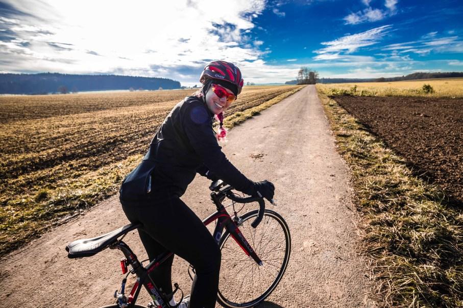 Radfahren Im Winter Softshell Jacke