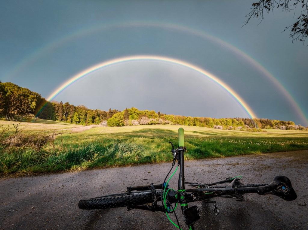 Fahrrad Regenbogen Mountainbike