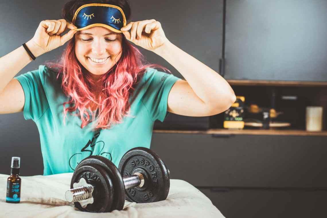 Schlaf Sportler Regeneration Sleep Spray Braineffect 8