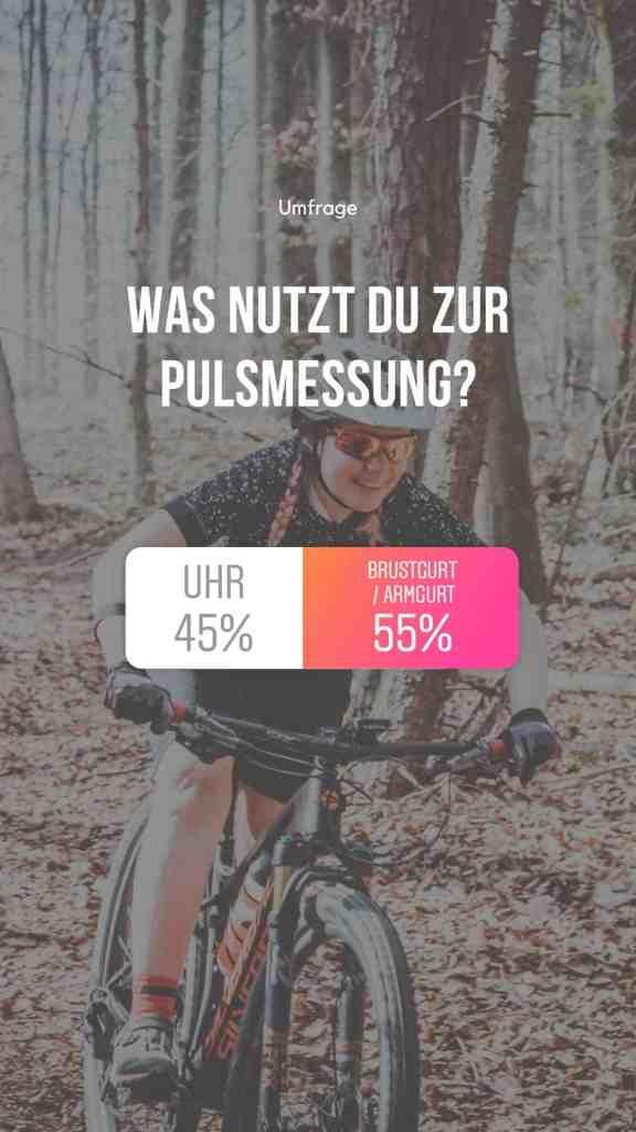puls messen radfahren brustgurt uhr umfrage
