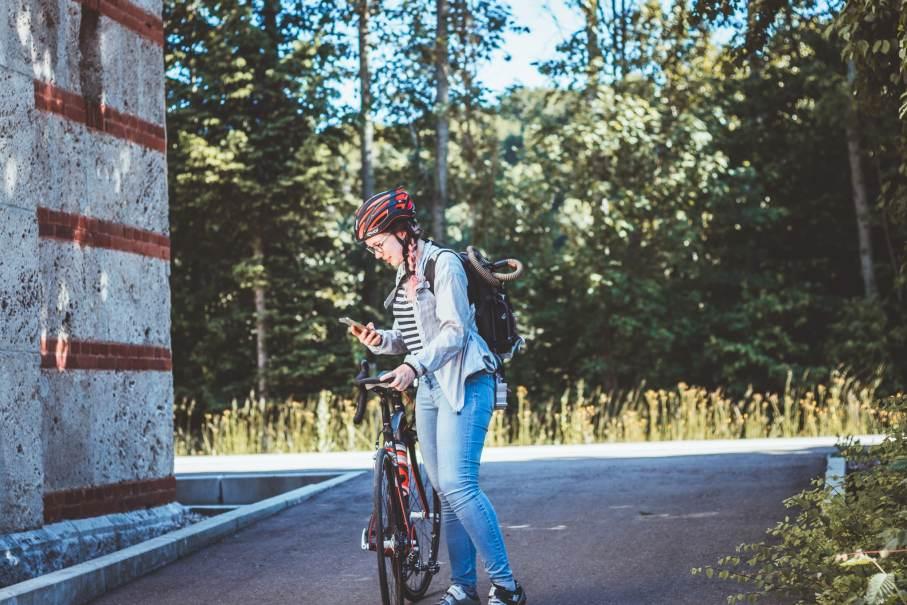 Mit dem Rad zur Arbeit - Zeit und Erfahrungen mit Chackpack