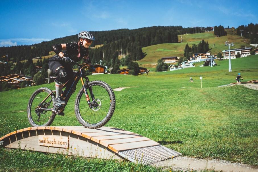 learn to ride park saalbach trail anfaenger erfahrungen bikepark