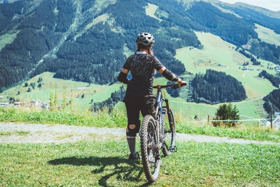 mountainbiken saalbach hinterglemm erfahrungen anfaenger bikepark