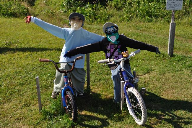 Joe's Scarecrows