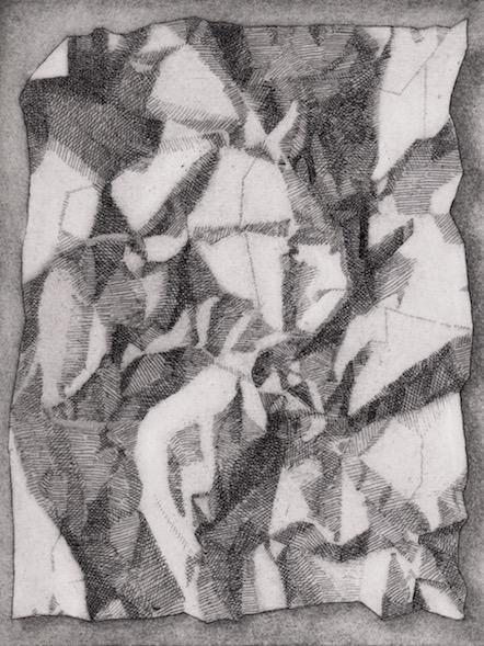 Prints Crumpled Paper Etching