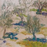 Chios Greece Painting