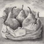Prints Renaissance Pears Landscape Etching