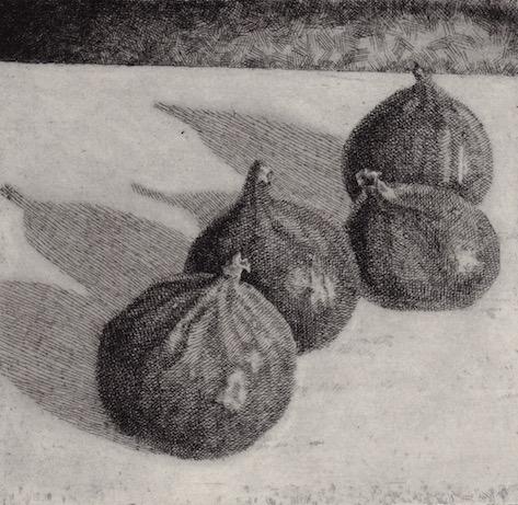 Prints Four Figs Quartet Etching