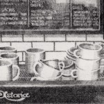 Prints Coffee Machine Marios Etching