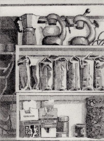 Prints Coffee Supplies Marios Etching