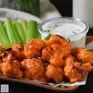 Image result for buffalo cauliflower bites