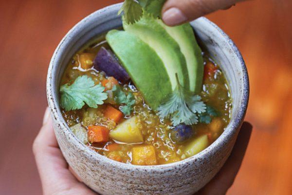 Vegan Recipe We'd Like to Try: Peruvian Quinoa Stew