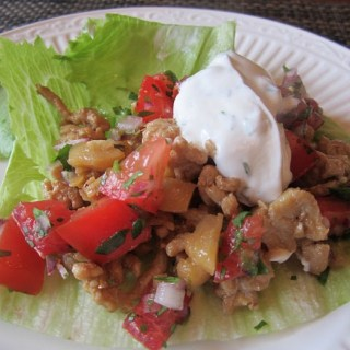 Chicken Lettuce Wraps, a Healthy Entree