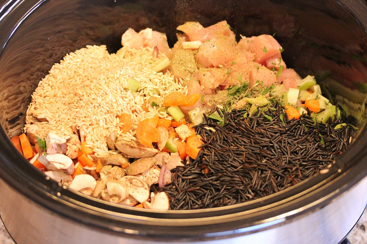 Slow Cooker Chicken Wild Rice Soup - Lisa's Dinnertime ...