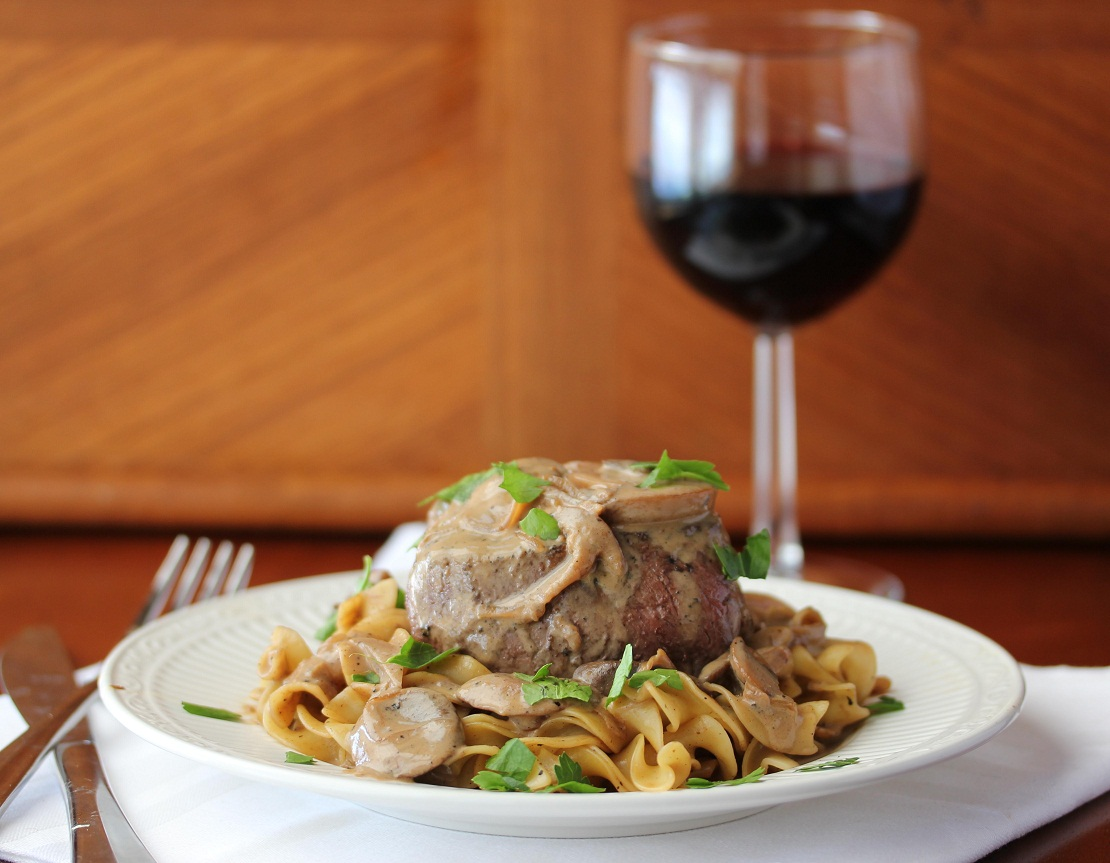 Filet Mignon with Stroganof Sauce - Lisa's Dinnertime Dish for Great ...