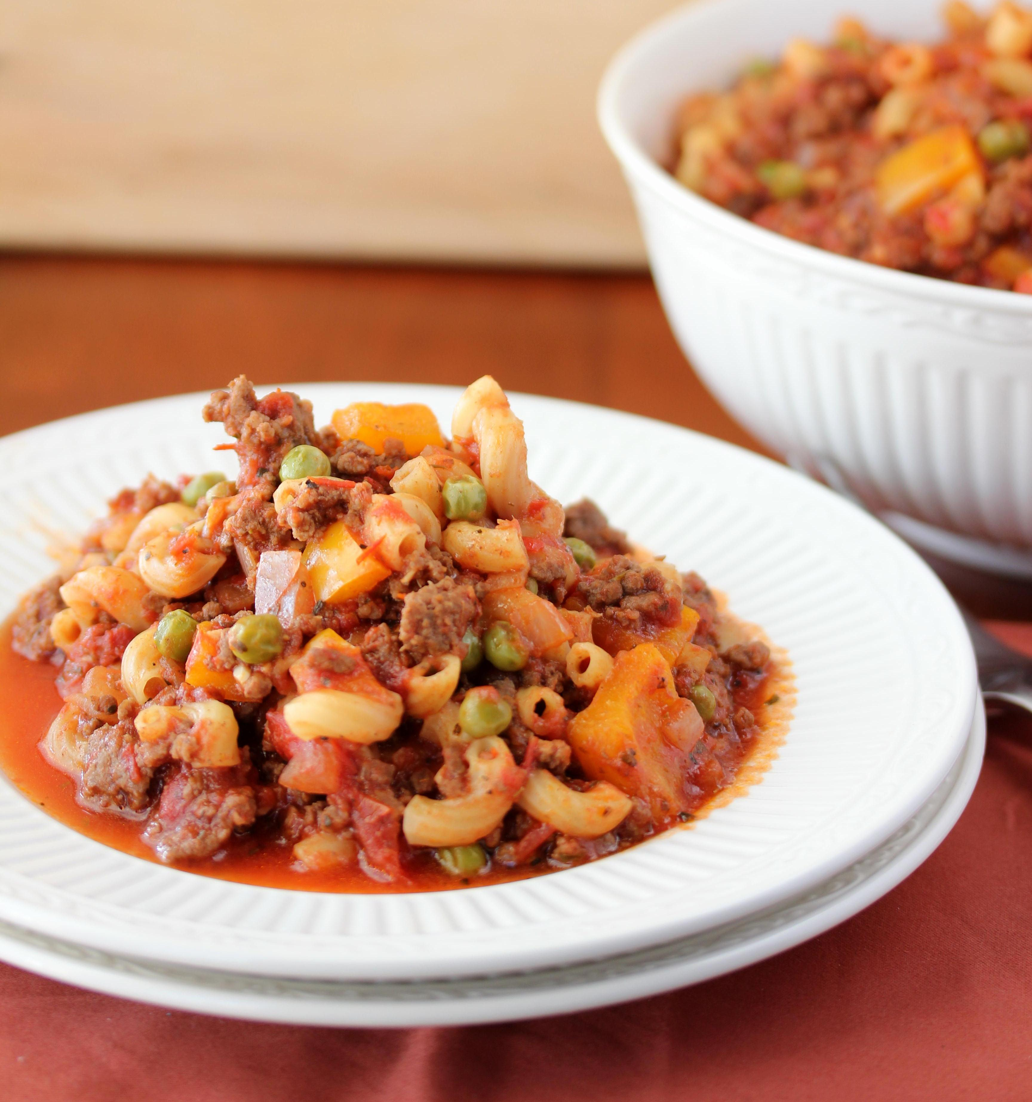 Old Fashioned Goulash - Lisa's Dinnertime Dish for Great ... - photo#35