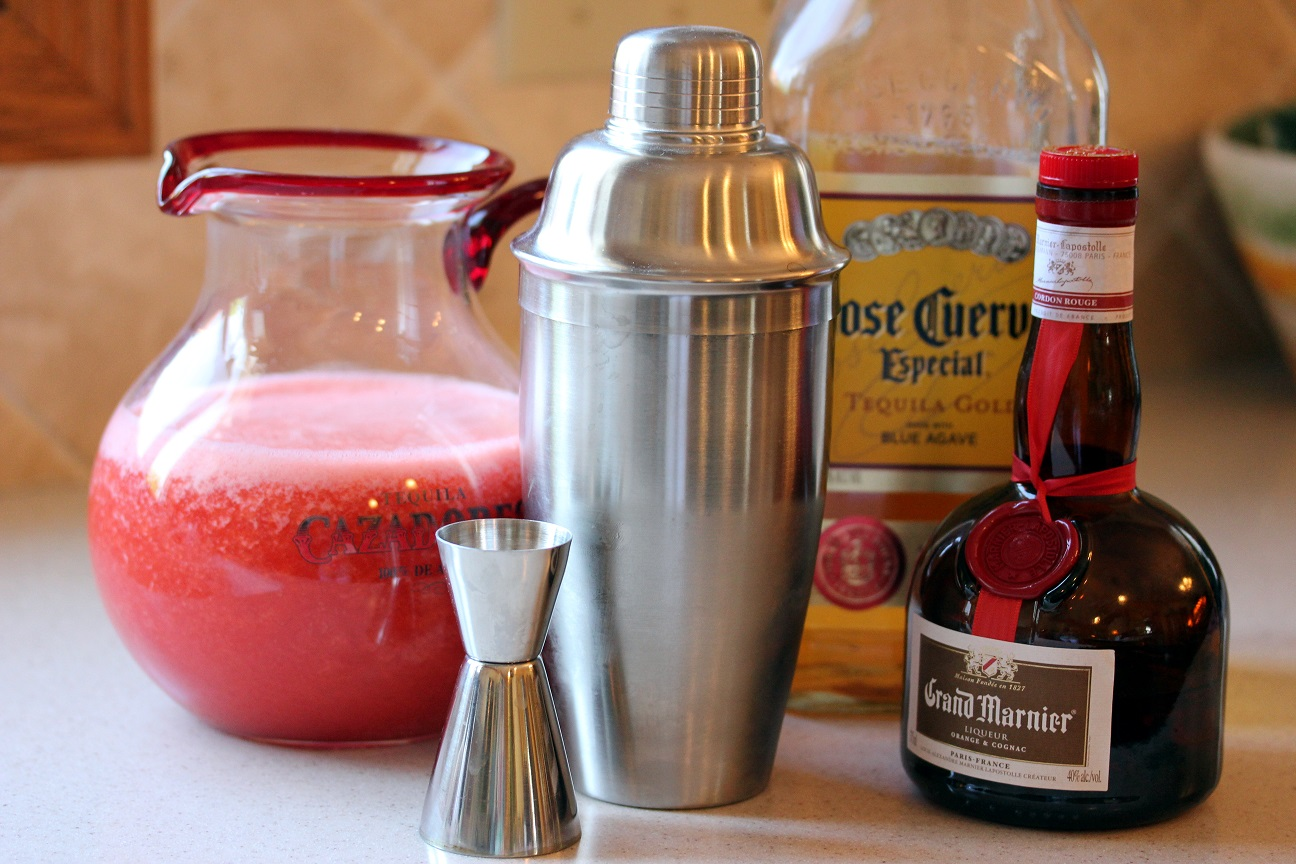 The perfect strawberry margarita cocktail or mocktail for The perfect drink mixer