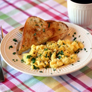 """Fancy Pants"" Scrambled Eggs"