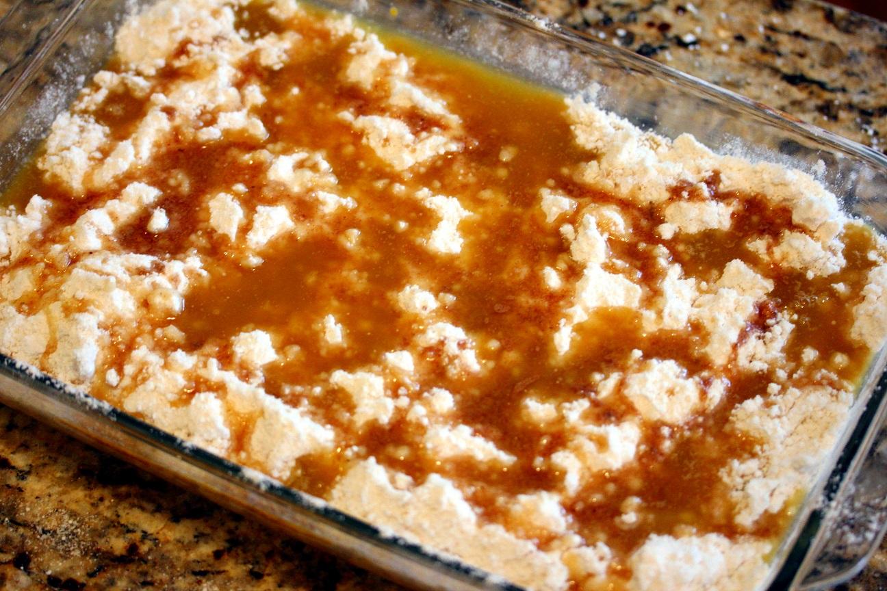 Pumpkin Dump Cake - Lisa's Dinnertime Dish