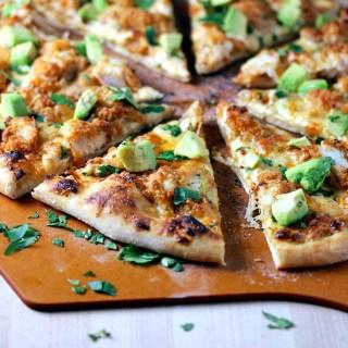 Chipotle Ranch Crispy Chicken Pizza