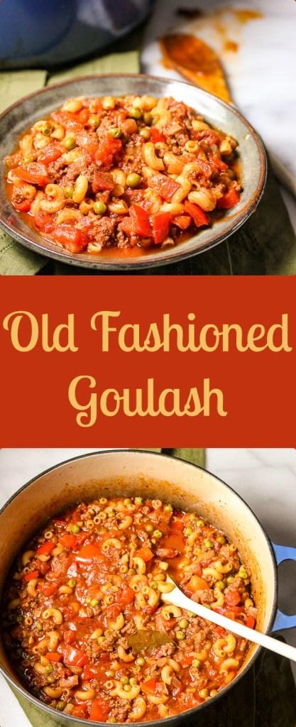 Old Fashioned Goulash Recipe Facebook