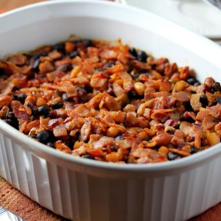 Smoky Three Bean Bake