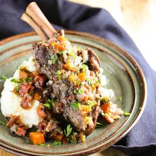 Braised Lamb Osso Buco