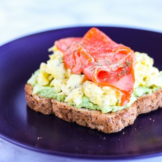Smoked Salmon Egg and Avocado Toast