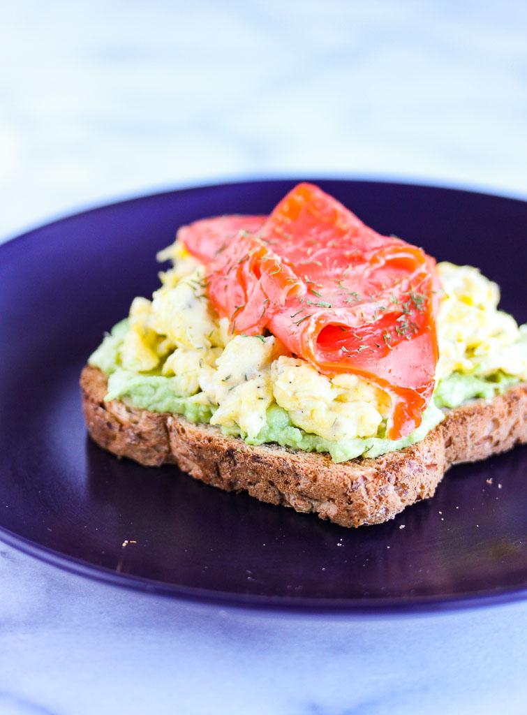 Smoked Salmon Egg and Avocado Toast