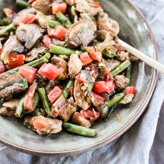 Skillet Chicken Vegetable Toss