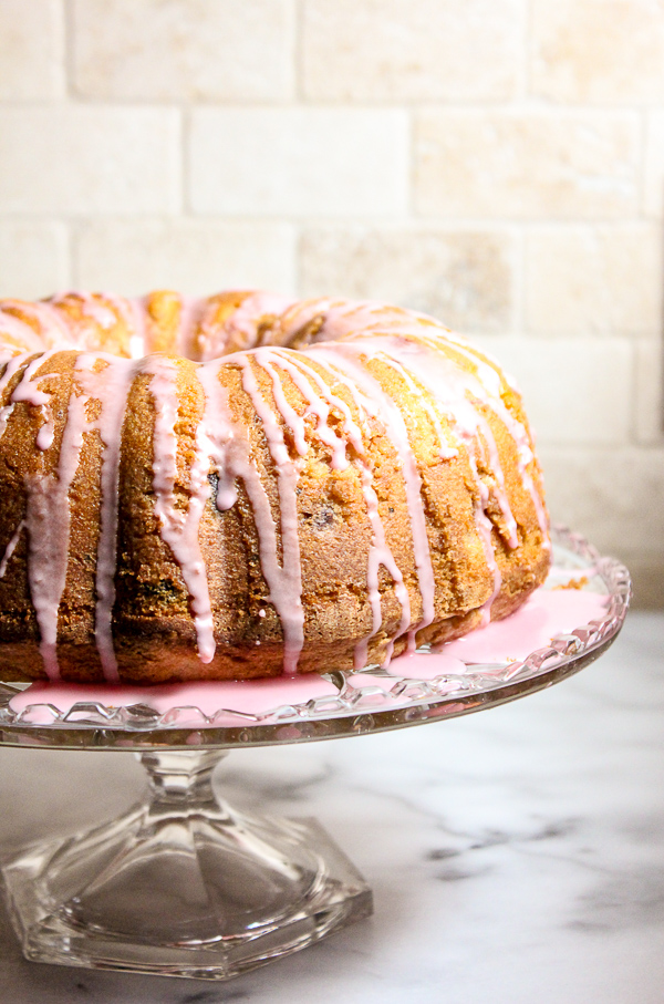 cUse your leftover cranberry sauce to make this brightly flavored, moist Cranberry Orange Christmas Poundcake. It's sure to be a hit at your holiday dinner.