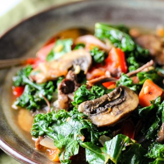 Vegetable Beef Detox Soup