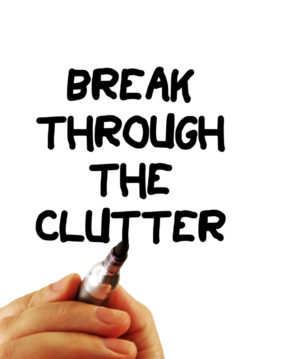 How this area of clutter affects your productivity