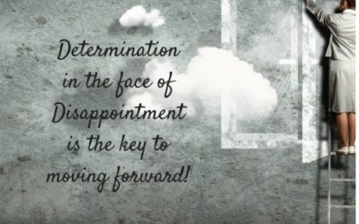 Determination in the face of disappointment
