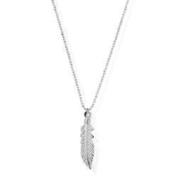 Chlobo---Diamond-Cut-Chain-With-Feather-Pendant