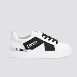 Murphys---LIU-JO---White-sneakers-with-Logo