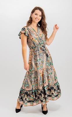 BORN---Brooklyn-Black-Printed-Maxi-Dress