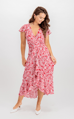 BORN---Casey-Red-Floral-Wrap-Dress