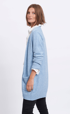 BORN---Viril-Open-Knitted-Cardigan-Captains-Blue
