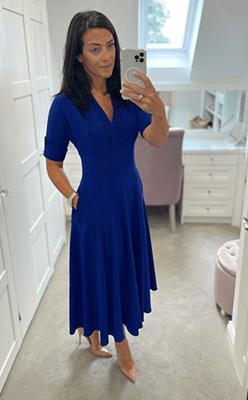 Nina's-Boutique---Kate-Cooper-Full-Skirt-Dress-in-Royal-Blue