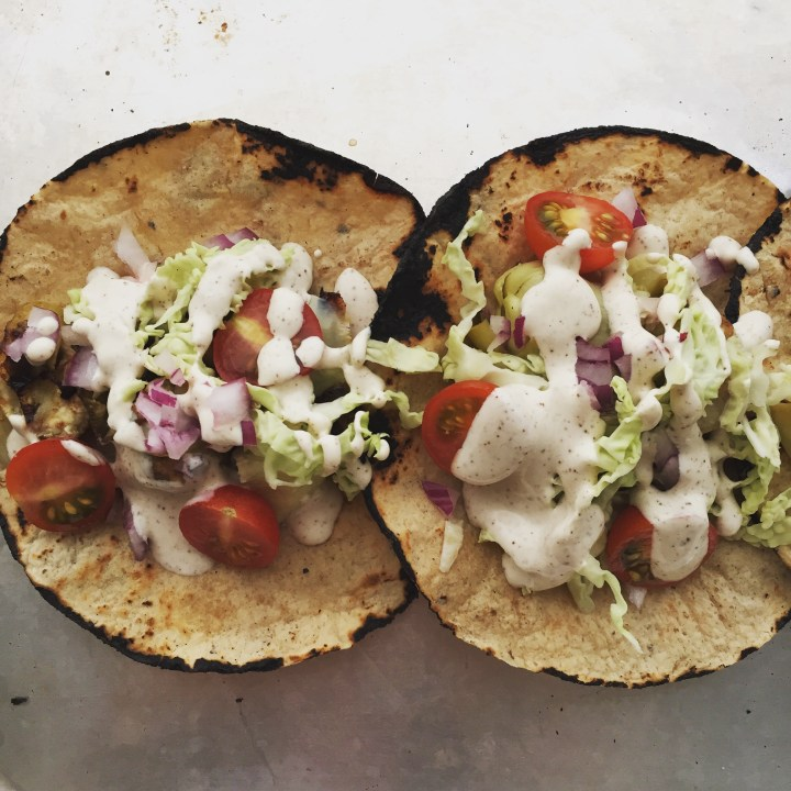 artichoke tacos
