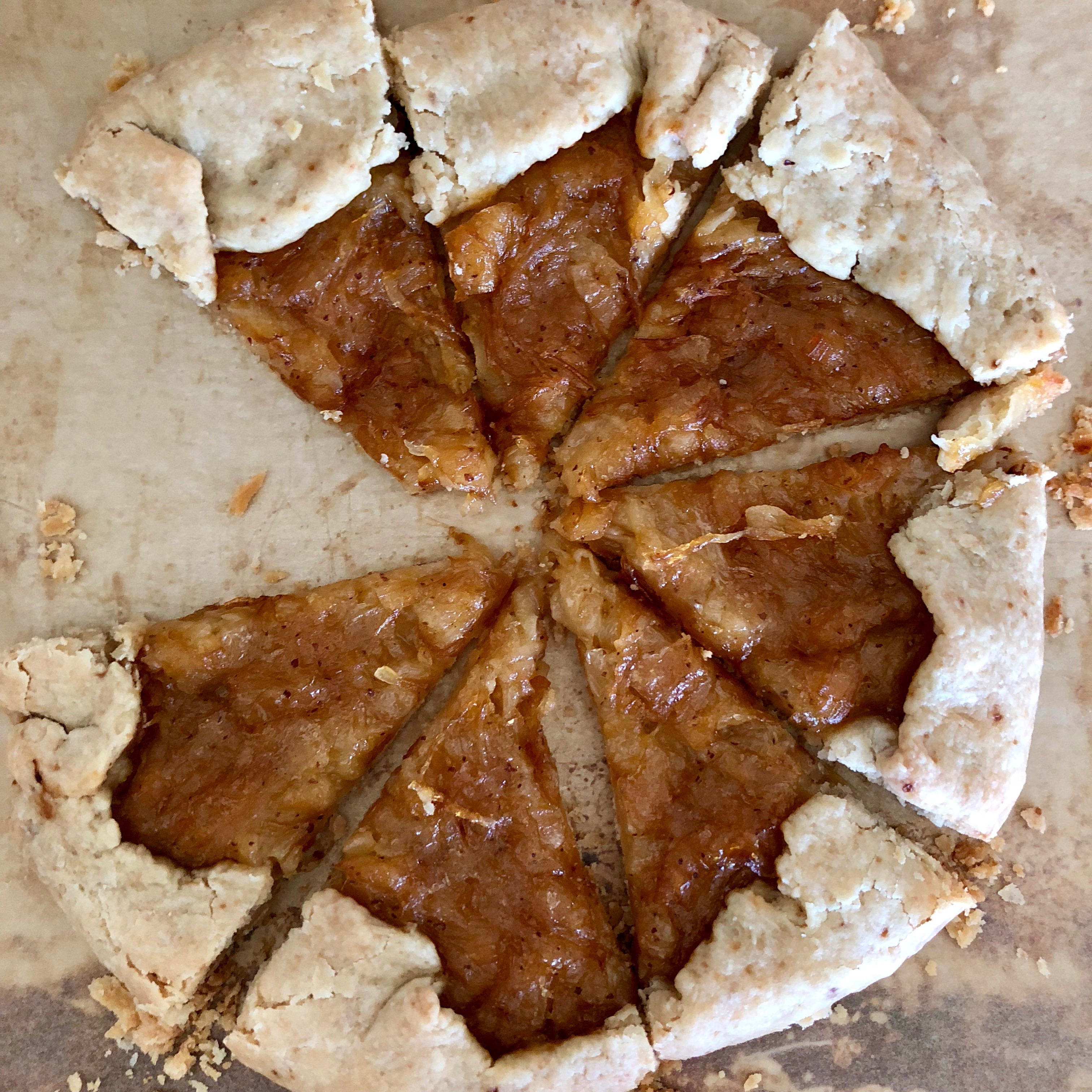Watch Caramelized-Onion Galette video